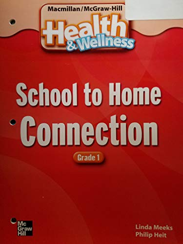 9780022819941: Health & Wellness School to Home Connection Grade 1