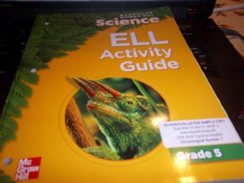 9780022823085: Science ELL Activity Guide Teacher Edition Grade 5
