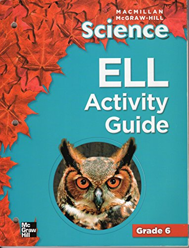 9780022823092: ELL Activity Guide (Science, grade 6)
