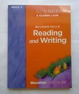 9780022840587: Science a Closer Look Grade 3 Building Skills Reading and Writing