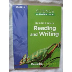 9780022840594: Science A Closer Look, Grade 4: Building Skills Reading and Writing