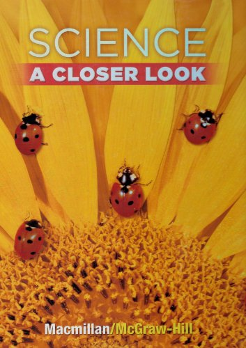 Science, A Closer Look, Grade 1, Student: Education, McGraw-Hill