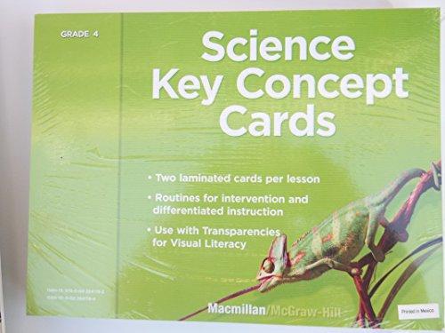 9780022841782: SC Key Concept Cards Gr 4