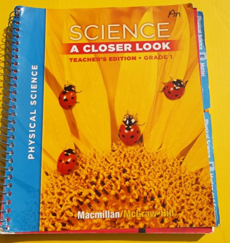 9780022842024: Science A Closer Look, Grade 2: Life Science [Teacher's Edition]