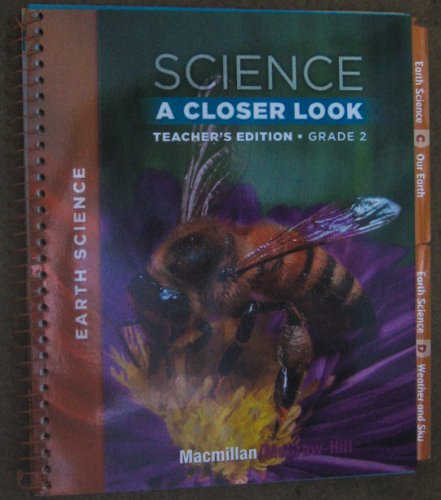 9780022842031: Science A Closer Look, Grade 2: Earth Science [Teacher's Edition]