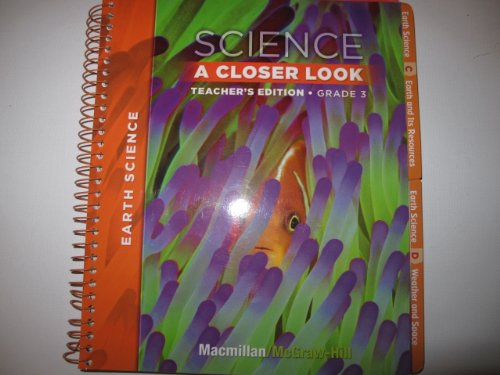 9780022842062: Science A Closer Look, Grade 3: Earth Science [Teacher's Edition]