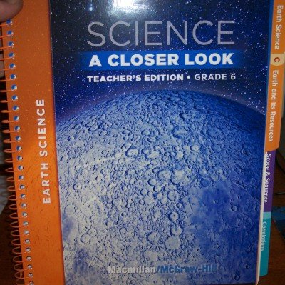 9780022842161: Science:A Closer Look 6.2 (Teacher Edition)