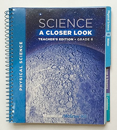 9780022842178: Science:A Closer Look 6.3 (TE)