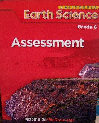 9780022842512: California Earth Science Assessment, Grade 6