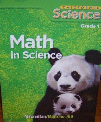 9780022842741: Math in Science, Grade 1 (California Science)