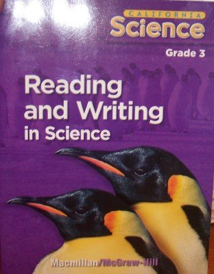9780022843120: California Science: Reading and Writing in Science Grade 3 (Student Edition)