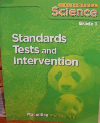 Standards Tests and Intervention Grade 1 (California Science: Student Edition)