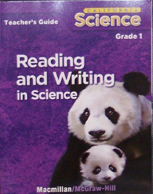 9780022843489: Reading and Writing in Science, Grade 1 (California Science, Teacher's Guide)