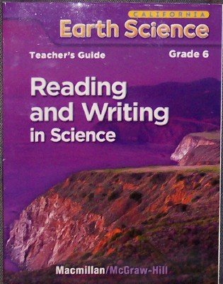 9780022843540: Reading and Writing in Science Grade 6 (California Earth Science)