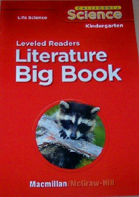 9780022844813: Leveled Readers in Big Book Format Grade Kindergarten (Calfornia Life Science, 6 Stories)