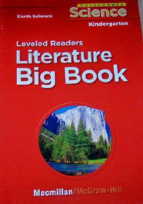 9780022844820: Leveled Readers in Big Book Format Grade Kindergarten (California Earth Science, 6 Stories)
