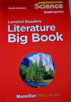 9780022844820: Leveled Readers in Big Book Format Grade Kindergarten (California Earth Science, 6 Stories)