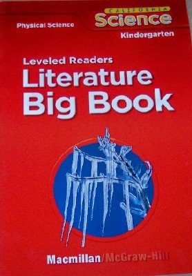 9780022844837: Leveled Readers in Big Book Format Grade Kindergarten (California Physical Science, 6 Stories)