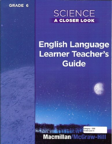 9780022845667: Tennessee A Closer Look English Language Learner's Teacher's Guide 6th Grade
