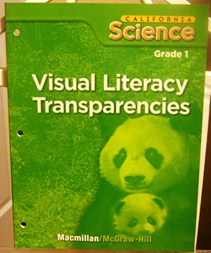 9780022845766: Visual Literacy Transparencies, Grade 1 (California Science)