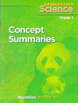 9780022848644: California Science Concept Summaries (Grade 1)