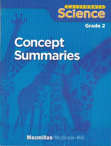 9780022848651: California Science Grade 2 (Concept Summaries)