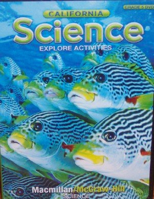 9780022848774: California Science Explore Activities DVD, Grade 5