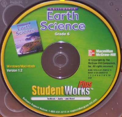 9780022849375: California Earth Science Student Works Plus, Grade 6
