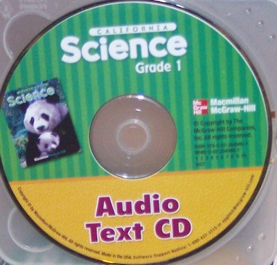 9780022849467: Audio Text CD, Grade 1 (California Science)