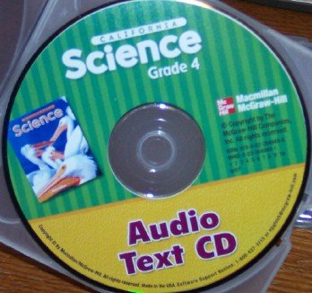9780022849498: California Science Audio Text Grade 4