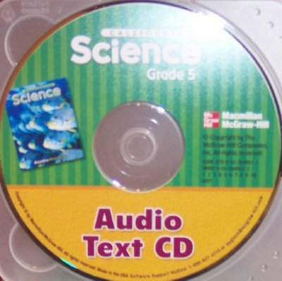 9780022849511: Audio Text CD, Grade 5 (California Science)