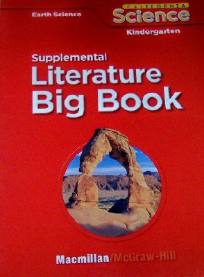 9780022849764: Supplemental Readers in Big Book Format Grade Kindergarten (California Earth Science, 8 Stories)