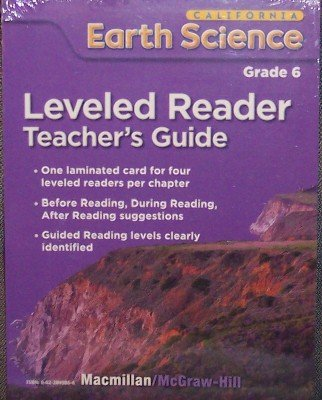 9780022849863: Leveled Reader (Teacher's Guide) Grade 6 (California Earth Science)