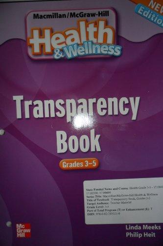 9780022850210: Health & Wellness Transparency Book Grades 3-5