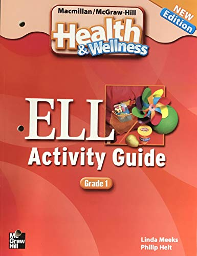 9780022850395: HEALTH AND WELLNESS ELL ACTIVITY GUIDE GRADE 1