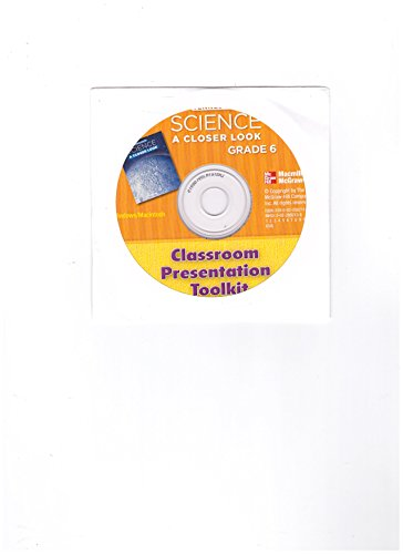 9780022851873: Science A Closer Look Grade 6 - Classroom Presentation ToolKit