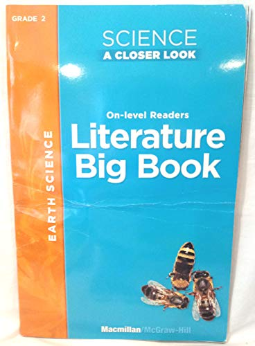 9780022853617: The Big Splash; Earth Science (Science a Closer Look, On-level Readers; Literature Big Book)