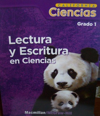 9780022854874: Lectura Y Escritura En Ciencias Grado 1 (California Ciencias, Teacher's Guide)