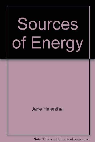 Sources of Energy: Helenthal, Jane