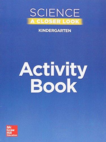 9780022861476: Science A Closer Look, Grade K: Activity Book