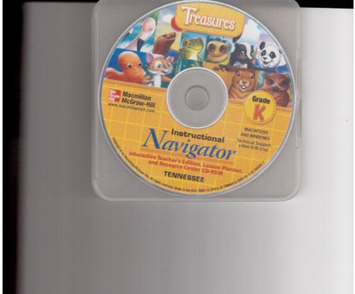 9780022866648: MacMillan McGraw-Hill Treasures Instructional Navigator CD-ROM Grade K Tennessee Edition