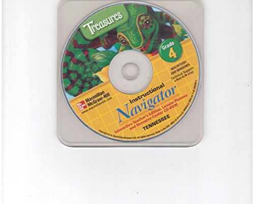 9780022866686: Tennessee MacMillan McGraw-Hill Treasures Grade 4 Instructional Navigator CD-ROM