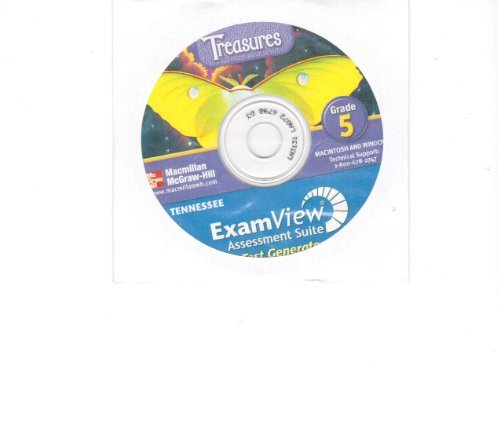 9780022867737: Treasures: Tennessee Examview Assessment Suite, Grade 5
