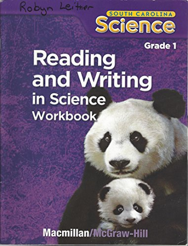 9780022873738: Reading and Writing in Science Workbook: SC Grade 1
