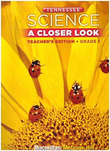 9780022877491: Science: A Closer Look (Tennessee Teacher's Edition - Grade 1)