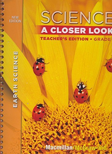 9780022879785: Science A Closer Look Teachers Edition Grade 1 (McMillian McGraw Hill Physical Science)