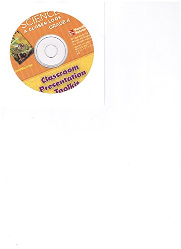 9780022882112: Tennessee Science A Closer Look CD-ROM (Classroom Presentation Toolkit, Grade 4)