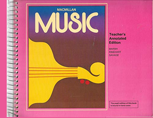 9780022919108: Music; The Spectrum of Music with Related Arts