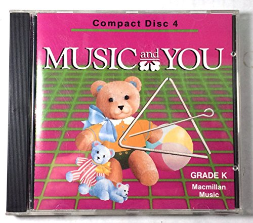 9780022939007: Music and You -Compact Discs -Grade K.