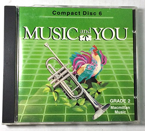 9780022939205: Music and You -Compact Discs -Grade 2